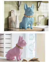 Load image into Gallery viewer, Abstract French Bulldog Resin Piggy BankHome Decor