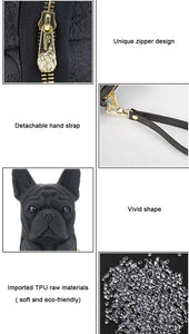 French Bulldog Shaped ClutchBag