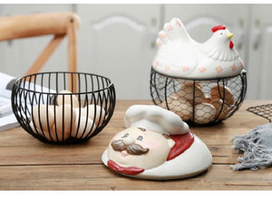 Frenchie Love Multipurpose Wire BasketHome Decor