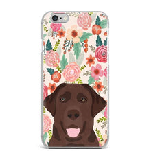 Load image into Gallery viewer, German Shepherd in Bloom iPhone CaseCell Phone AccessoriesLabradorFor 5 5S SE