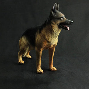 German Shepherd Love Lifelike StatueHome Decor