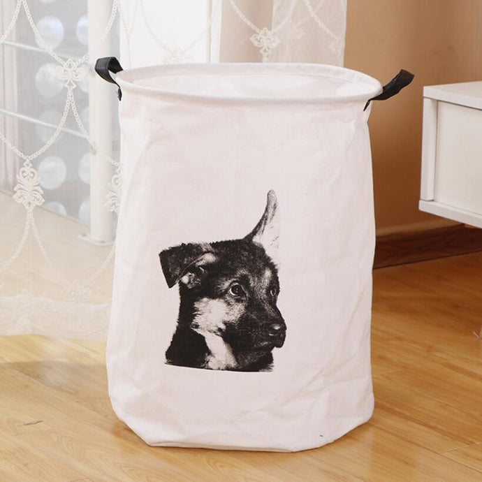 German Shepherd Love Waterproof Laundry BasketHome Decor