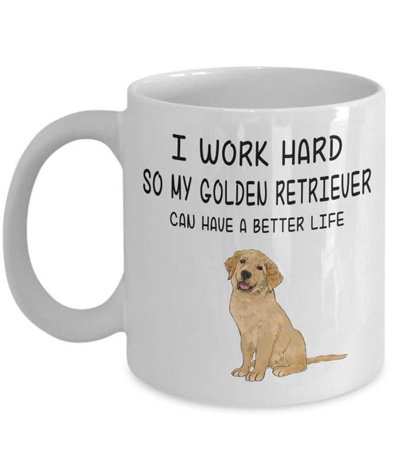 Golden Retriever Coffee MugMug