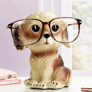 Golden Retriever Love Resin Glasses Holder FigurineHome Decor