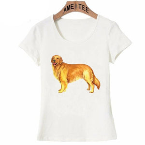 Golden Retriever Love Womens T ShirtApparel