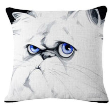 Load image into Gallery viewer, Goofy Pug Cushion CoverCushion CoverOne SizeCat
