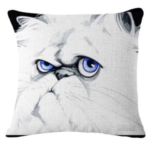 Goofy Pug Cushion CoverCushion CoverOne SizeCat