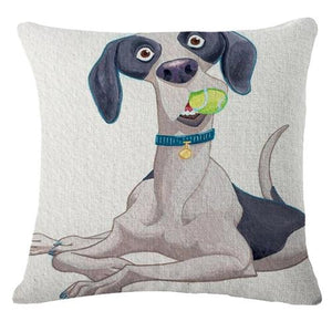 Goofy Pug Cushion CoverCushion CoverOne SizeGSP