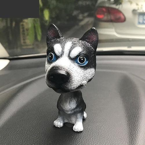 Husky Love Car Bobble HeadCar