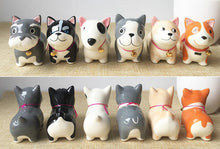 Load image into Gallery viewer, Husky Love Ceramic Car Dashboard / Office Desk Ornament FigurineHome Decor