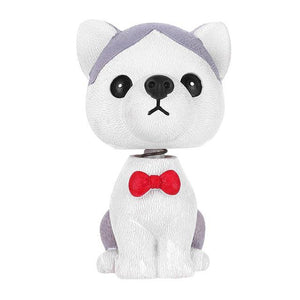 Husky Love Fur Baby BobbleheadCar Accessories