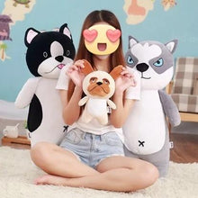 Load image into Gallery viewer, Husky Love Huggable Stuffed Animal Plush Toy Pillow (Small to Giant size)Home Decor