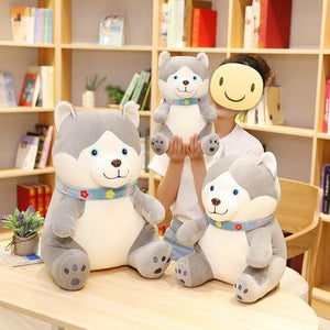 Husky Love Huggable Stuffed Animal Plush Toys (Small to Giant size)Soft ToyExtra LargeHusky