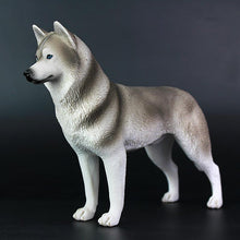 Load image into Gallery viewer, Husky Love Lifelike Resin Figurine StatueHome Decor