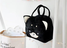 Load image into Gallery viewer, Husky Love Plush HandbagBag