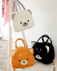 Husky Love Plush HandbagBag