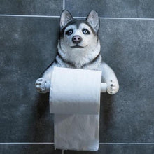 Load image into Gallery viewer, Husky Love Toilet Roll HolderHome Decor