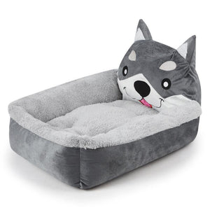 Husky Themed Pet BedHome Decor