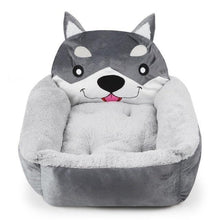 Load image into Gallery viewer, Husky Themed Pet BedHome DecorHuskySmall