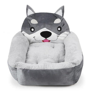 Husky Themed Pet BedHome DecorHuskySmall