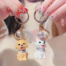 Load image into Gallery viewer, I Love My Bichon Frise KeychainAccessories