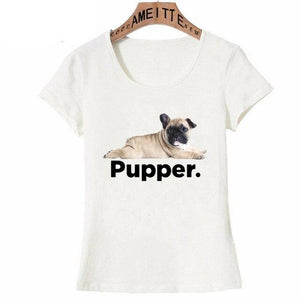 I Love My Golden Retriever Pupper Womens T ShirtApparelPugS