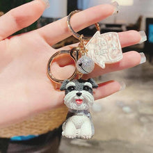 Load image into Gallery viewer, I Love My Schnauzer KeychainAccessoriesSchnauzer