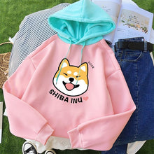 Load image into Gallery viewer, I Love Shiba Inu Hooded SweatshirtT shirt
