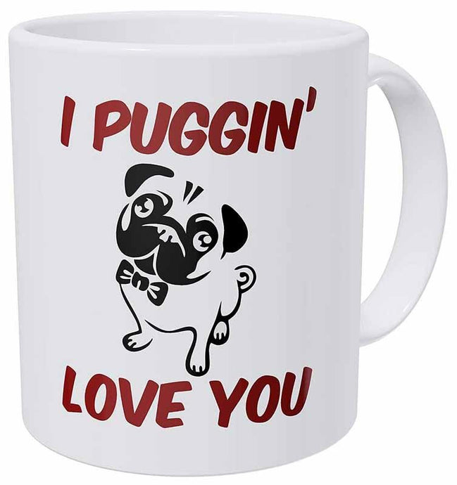 I Puggin' Love You Coffee MugMug