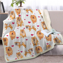 Load image into Gallery viewer, Infinite Basset Hound Love Warm Blanket - Series 2Home DecorChow ChowMedium
