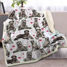 Load image into Gallery viewer, Infinite Basset Hound Love Warm Blanket - Series 2Home DecorIrish WolfhoundMedium