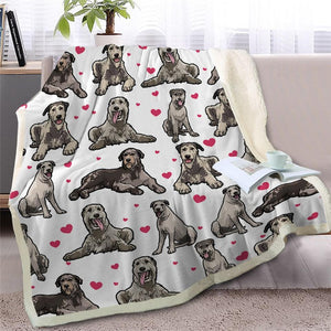 Infinite Basset Hound Love Warm Blanket - Series 2Home DecorIrish WolfhoundMedium