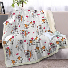 Load image into Gallery viewer, Infinite Basset Hound Love Warm Blanket - Series 2Home DecorStaffordshire Bull TerrierMedium