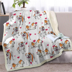 Infinite Bichon Frise Love Warm Blanket - Series 2Home DecorStaffordshire Bull TerrierMedium