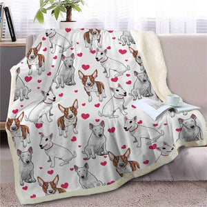 Infinite Boston Terrier Love Warm Blanket - Series 1Home Decor