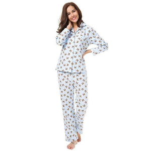 Infinite Boston Terriers Cotton PajamasPajamas