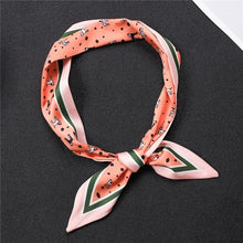 Load image into Gallery viewer, Infinite Dalmatians Love Womens Silk Neck ScarvesAccessories