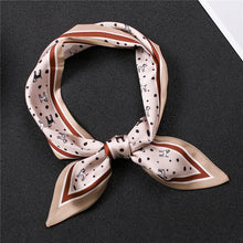 Load image into Gallery viewer, Infinite Dalmatians Love Womens Silk Neck ScarvesAccessoriesLight Mauve