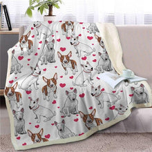 Load image into Gallery viewer, Infinite Orange Pomeranian Love Warm Blanket - Series 1Home Decor