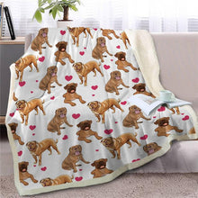 Load image into Gallery viewer, Infinite Shiba Inu Love Warm Blanket - Series 1Home DecorMastiffMedium