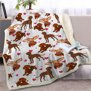 Infinite Shiba Inu Love Warm Blanket - Series 1Home DecorVizlaMedium
