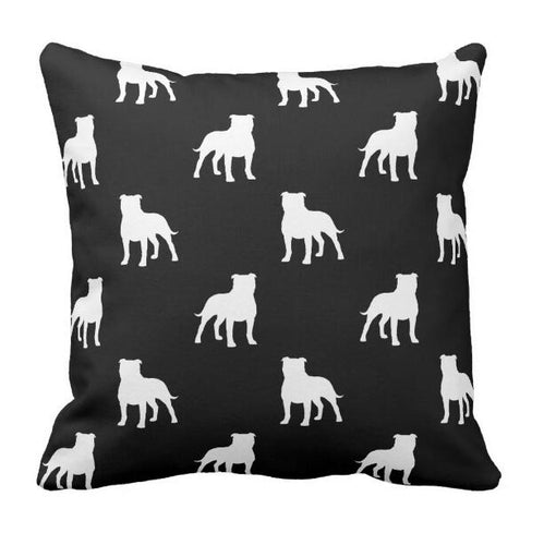 Infinite Staffordshire Bull Terrier Love Cushion CoverCushion Cover