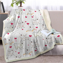 Load image into Gallery viewer, Infinite Staffordshire Bull Terrier Love Warm Blanket - Series 2Home DecorPomeranianMedium