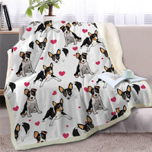 Load image into Gallery viewer, Infinite Staffordshire Bull Terrier Love Warm Blanket - Series 2Home DecorToy Fox TerrierMedium