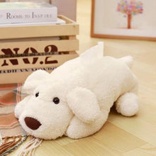 Load image into Gallery viewer, Labrador Love Soft Tissue BoxHome DecorWhite