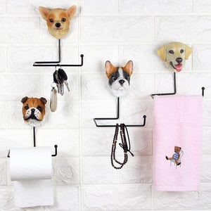 Love Pugs Multipurpose Bathroom AccessoryHome Decor