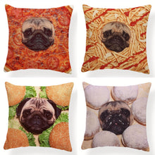 Load image into Gallery viewer, My Pug Loves Grub Cushion CoversCushion Cover