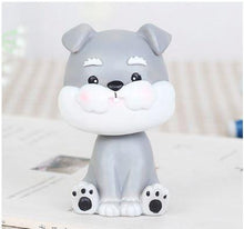 Load image into Gallery viewer, Nodding Corgi Car Bobble HeadCarMini Schnauzer