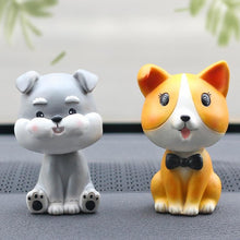 Load image into Gallery viewer, Nodding Dogs Car Bobble Heads Car phaking