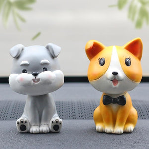 Nodding Dogs Car Bobble Heads Car phaking
